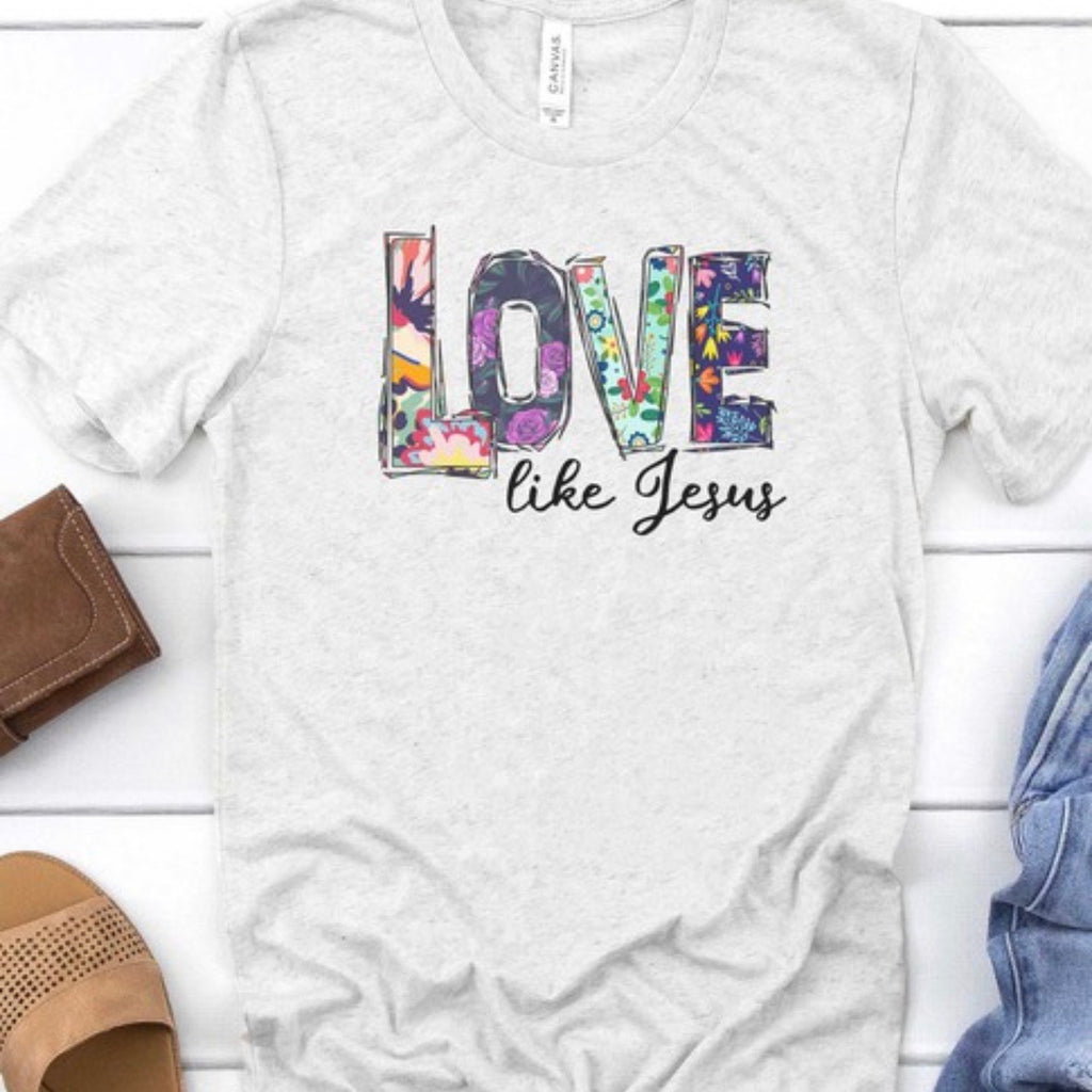 Love Like Jesus tee (reg & plus)