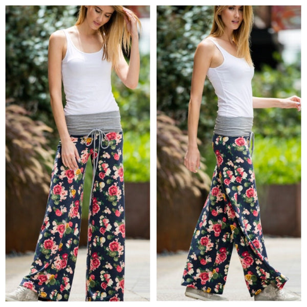 Sunday Blooms pants