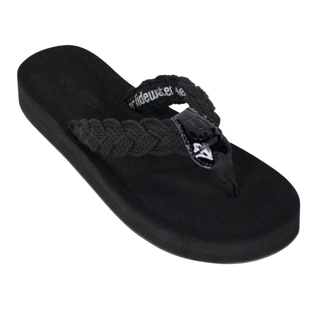 Nantucket Black flip flop