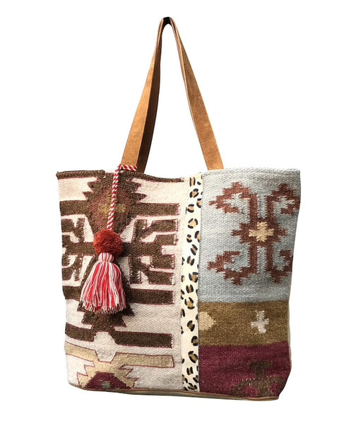 Autumn Patches tote