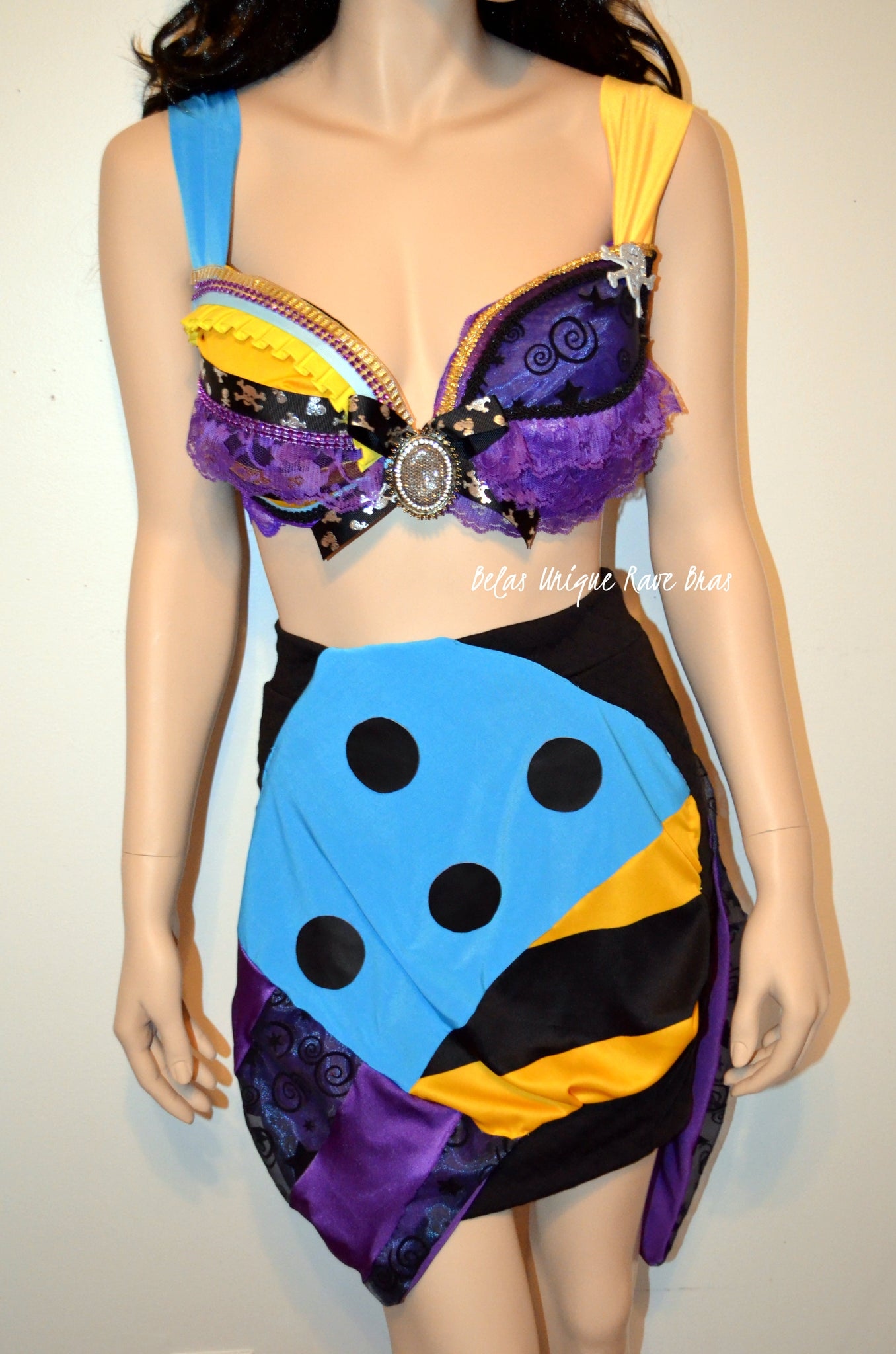 Sally Nightmare Before Christmas Costume Cosplay Dance Rave Bra ...