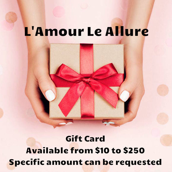 Gift Card $10-$250