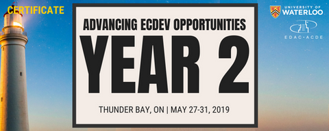 Advancing Economic Development Opportunities (Year 2) Thunder Bay - Registration