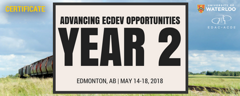 Advancing Economic Development (Year 2): Edmonton - Registration