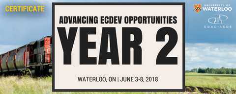 Advancing Economic Development (Year 2): Waterloo - Registration