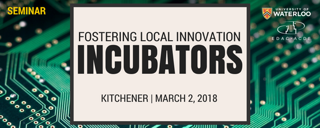 Fostering Local Innovation: Incubators