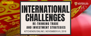 EDP Seminar - International Challenges: Re-Thinking Trade and Investment Strategies