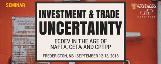 EDP Seminar - Investment Trade and Uncertainty