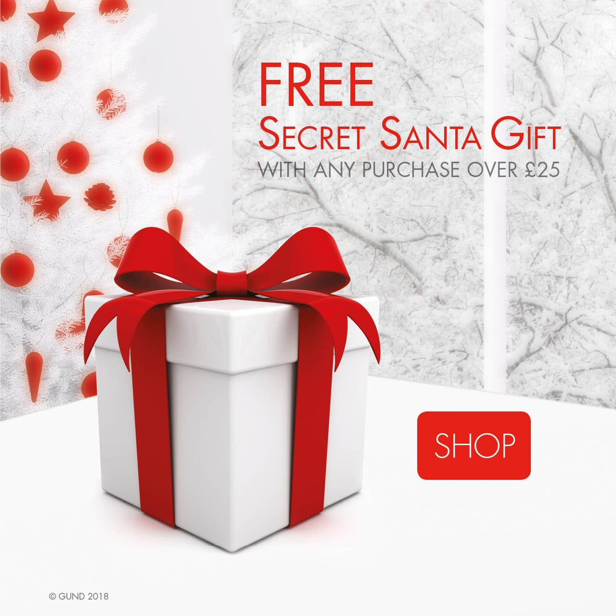 Free Secret Santa Gift with purchases over £25