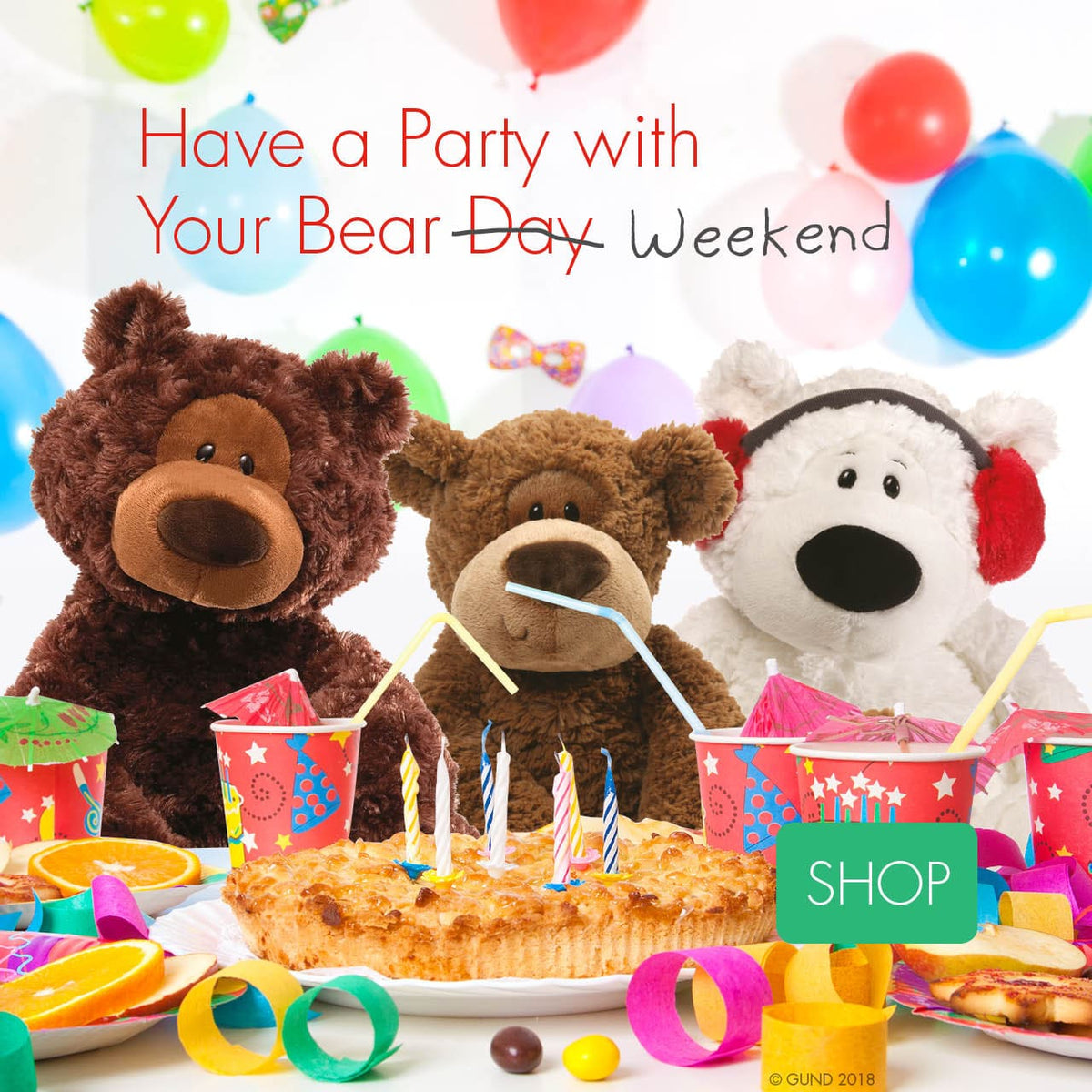 Have a Party with Your Bear Weekend!