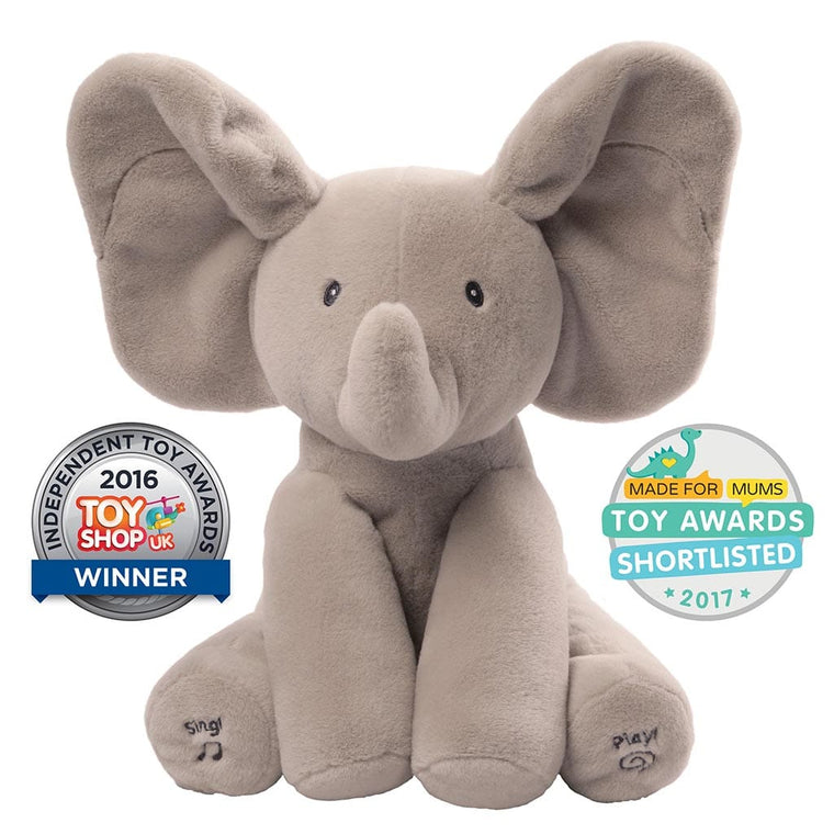 Baby GUND Animated Flappy the Elephant PRE ORDER NOW FOR DELIVERY AFTER DECEMBER 11TH