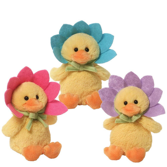 GUND Flower Duck Sound Toy