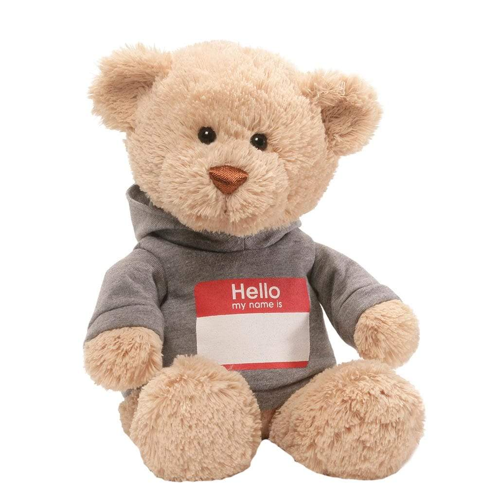 GUND Hello My Name Is