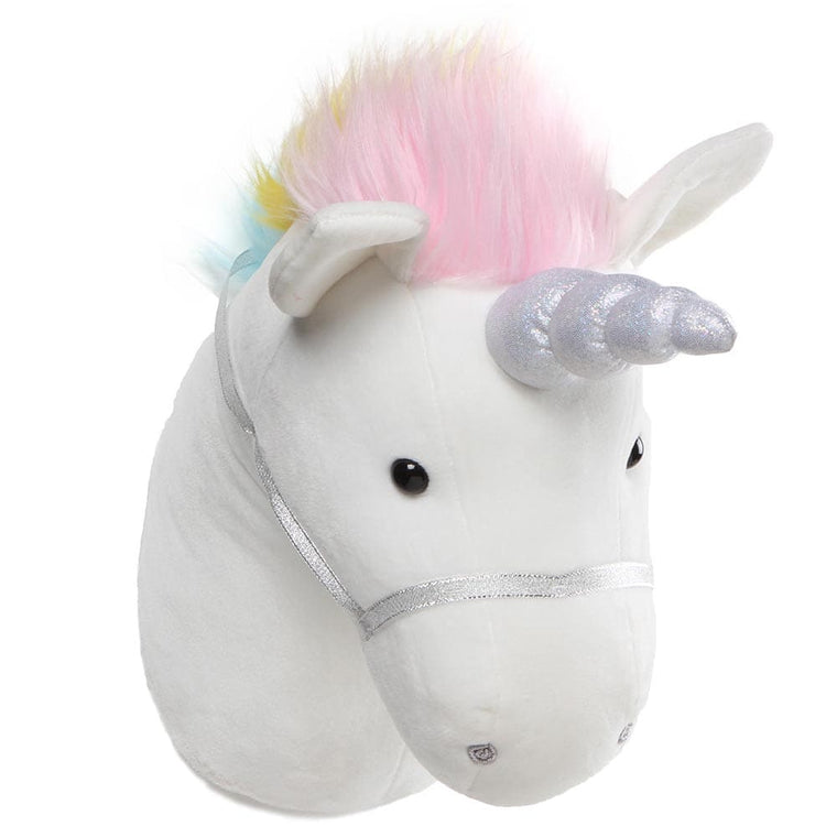 GUND Unicorn With Sparkly Horn Room Decor Head Soft Toy