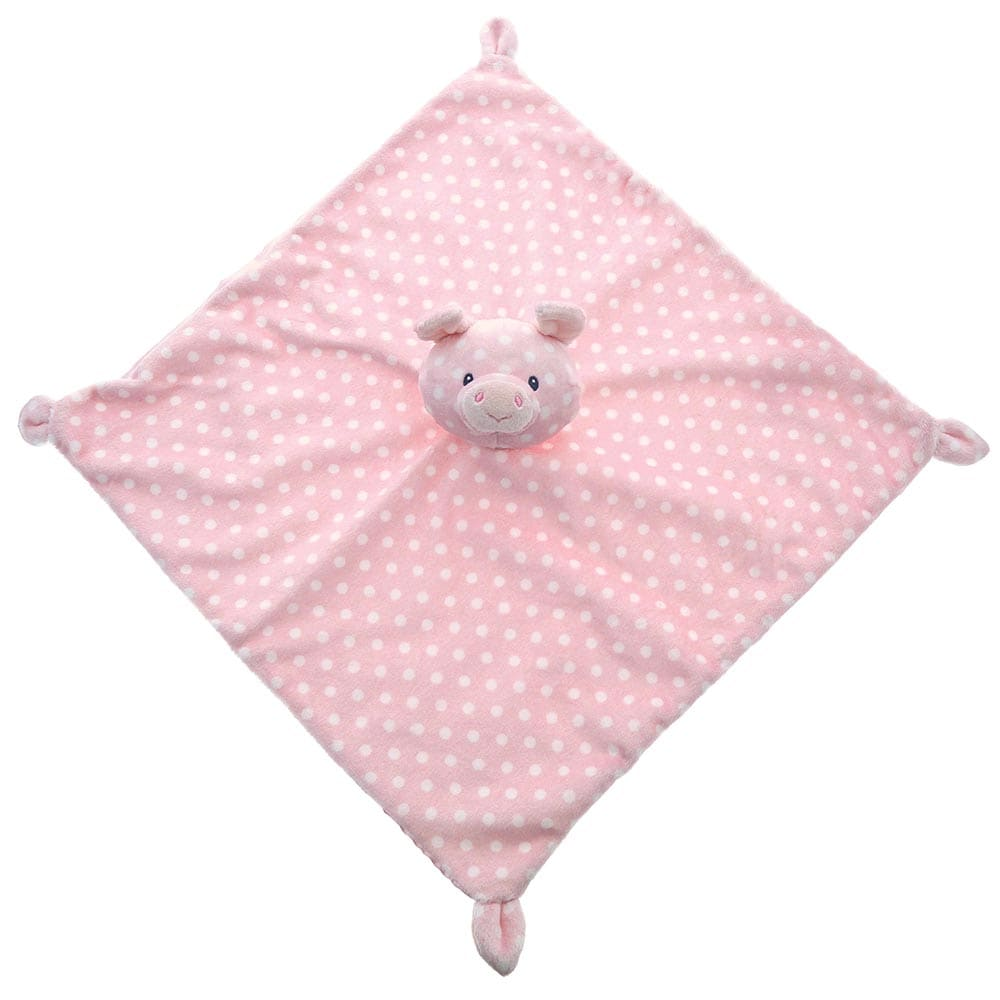 Baby GUND Roly Poly Lovey Pig With Cute Polka Dot Pattern