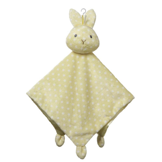 Baby GUND Roly Poly Lovey Bunny With Cute Polka Dot Pattern