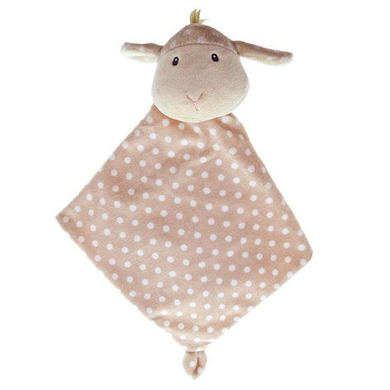 Baby GUND Roly Poly Lovey Lamb With Cute Polka Dot Pattern