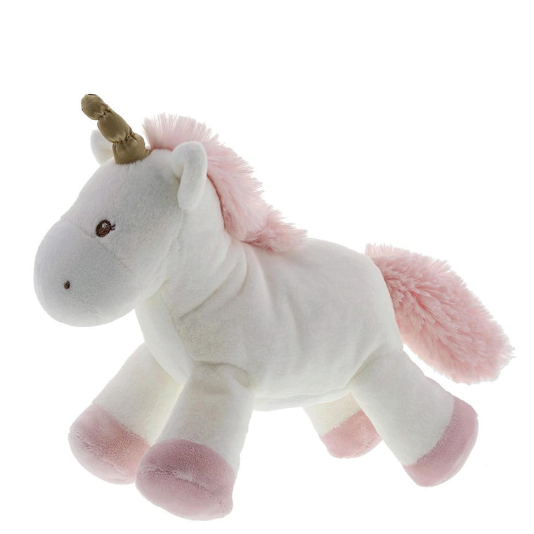 Baby GUND Luna Unicorn Soft Toy With Gold Metallic Hints