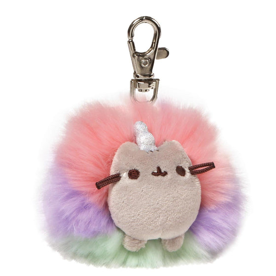 Pusheenicorn Deluxe Rainbow Fluffy Pom With Sparkly Horn