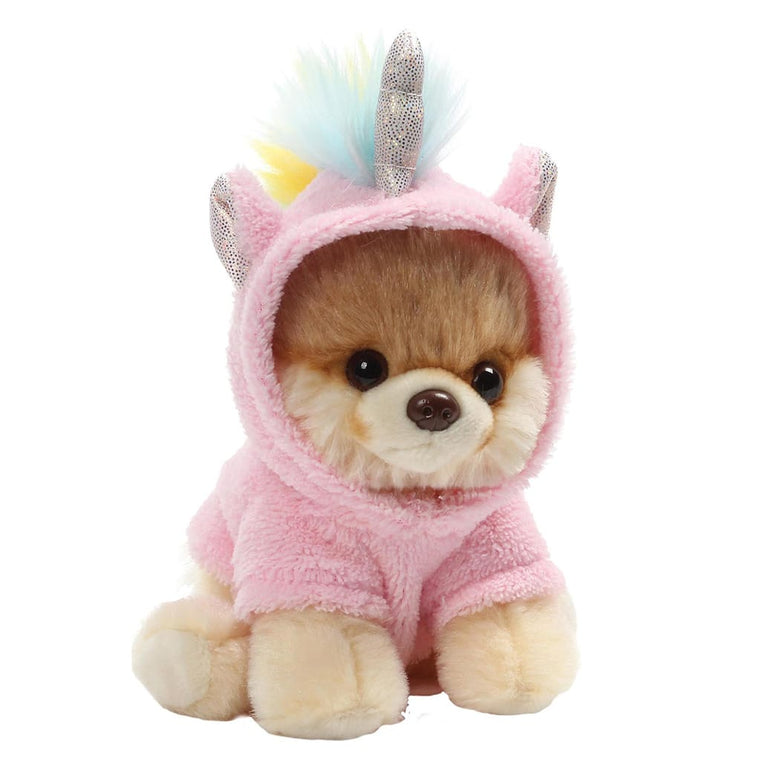GUND Itty Bitty Boo #044 Unicorn With Sparkly Horn and Ears