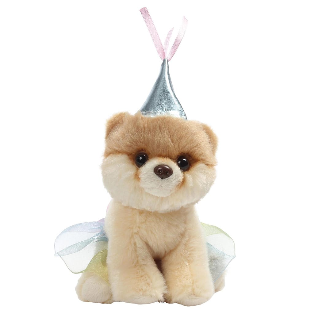 GUND Itty Bitty Boo #046 Princess With Multicoloured Tutu
