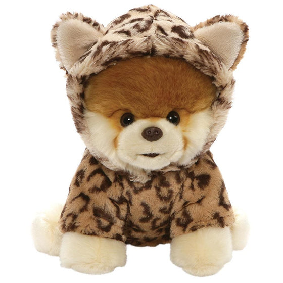 GUND Boo Huggable Leopard Soft Toy The World's Cutest Dog