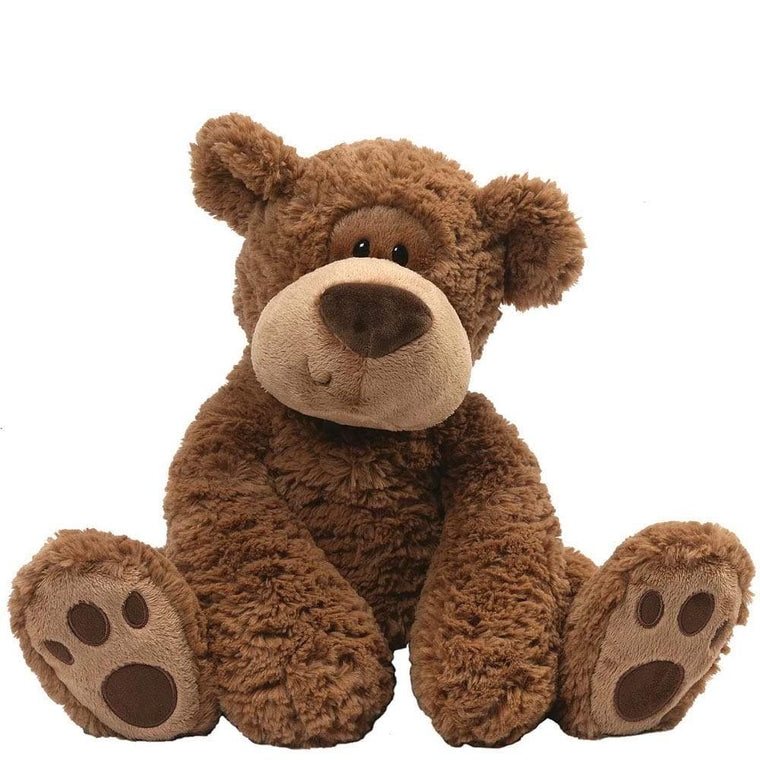 GUND Grahm Brown Huggable Bear Soft Toy Cute Companion