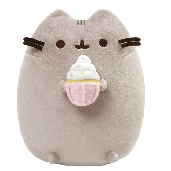 Pusheen Snackable Multi Coloured Sprinkled Cupcake Soft Toy