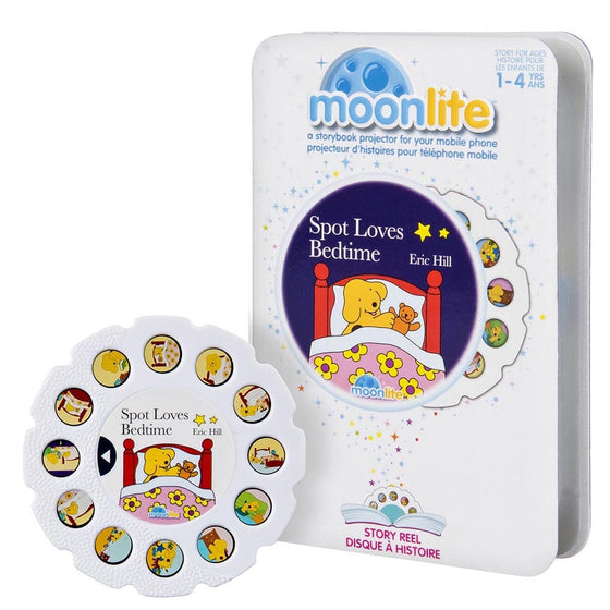 Moonlite Story Reel - Spot the Dog Bed Time