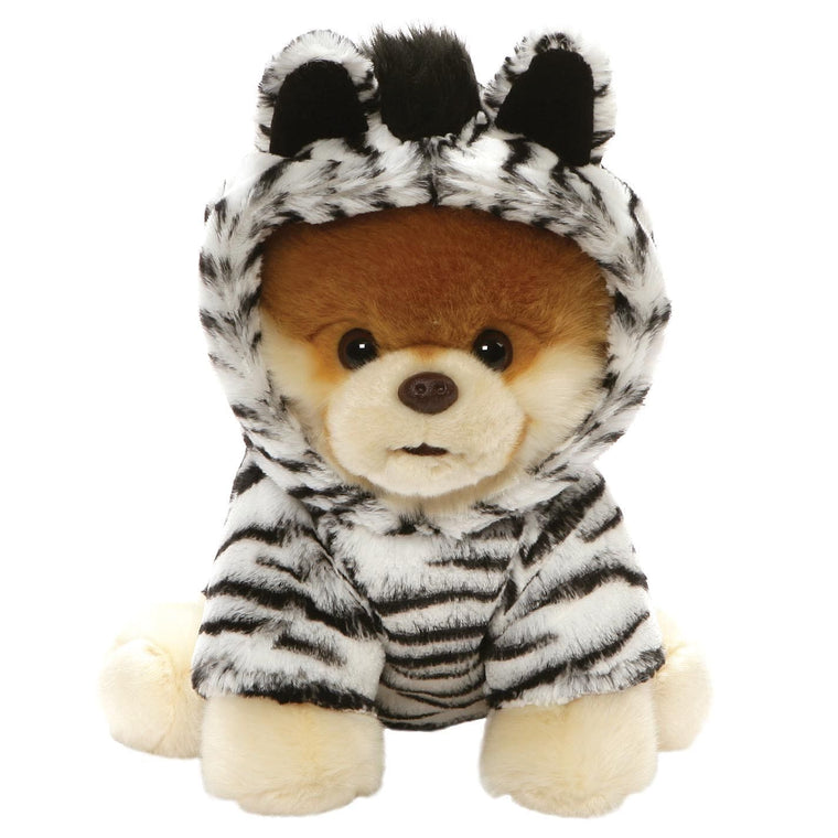 GUND Boo Huggable Zebra Soft Toy The World's Cutest Dog
