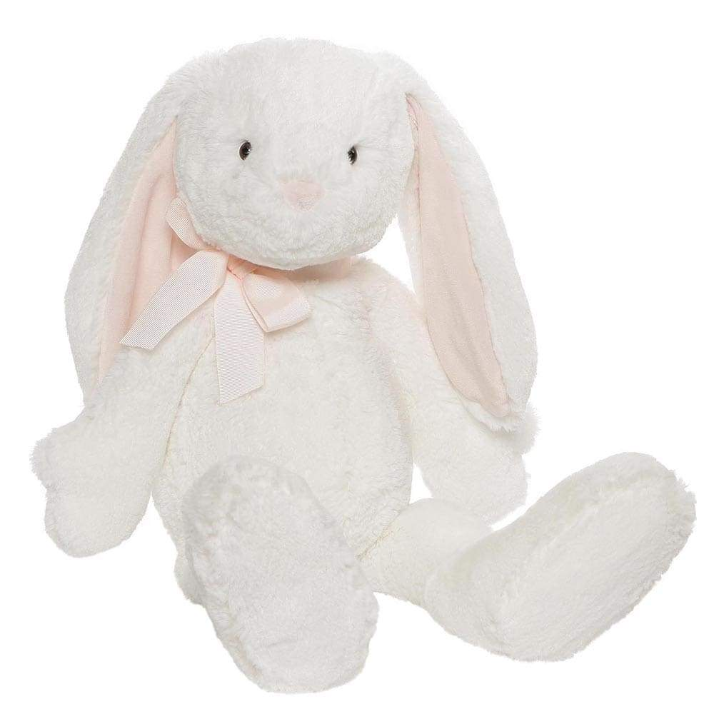 GUND Evelyn Bunny Large Adorable Soft Toy With Pink Bow