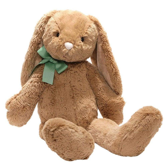 GUND Evan Bunny Large Caramel Soft Toy With Pink Nose