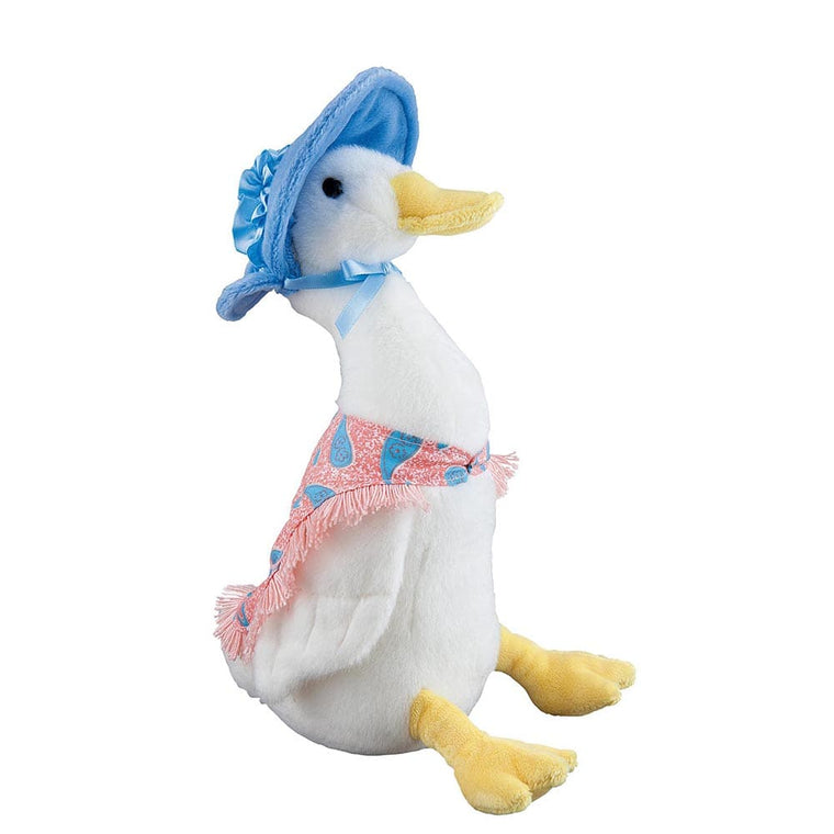 Jemima Puddle-Duck Large Soft Toy - Peter Rabbit by Gund