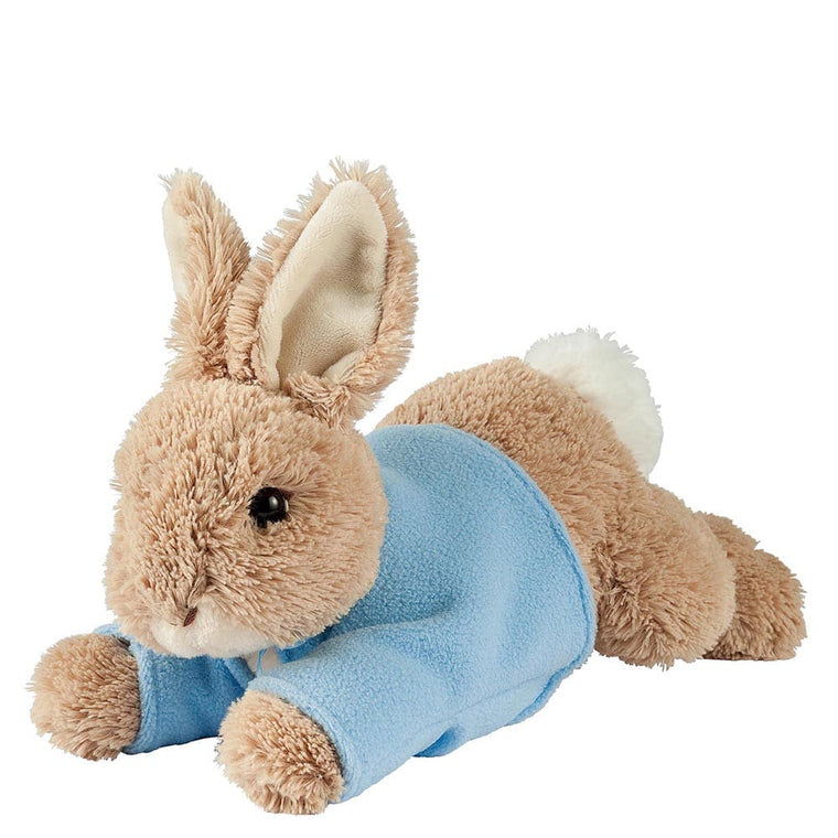 Peter Rabbit Lying Medium Soft Toy - Peter Rabbit by Gund