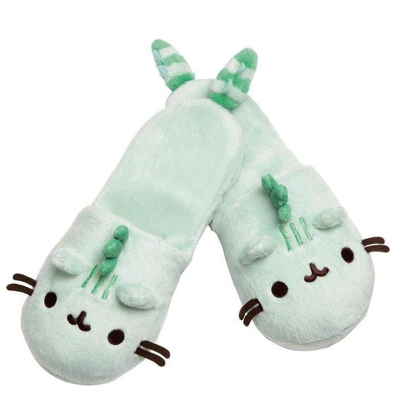 Pusheenosaurus Slippers