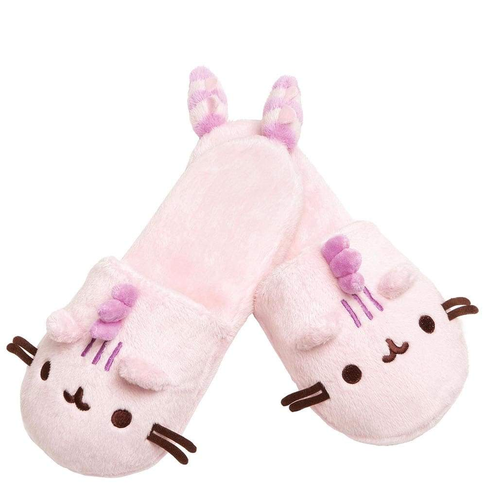 Pusheenosaurus Cotton Candy Slippers