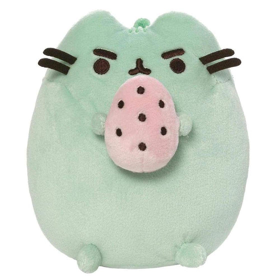 Pusheen Green Standing With Egg