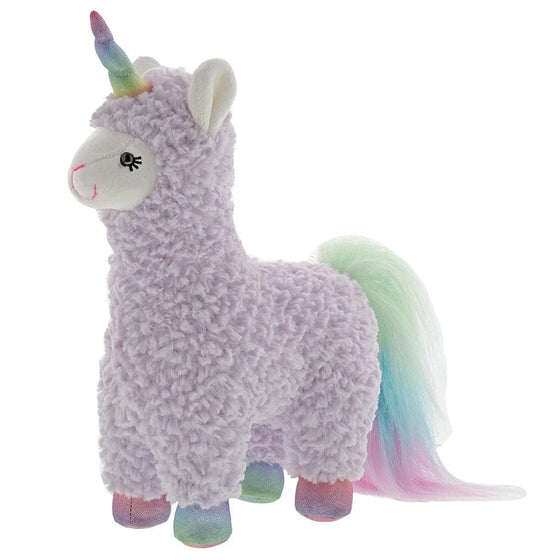 Sugar Plum Purple Llamacorn Soft Toy by Gund