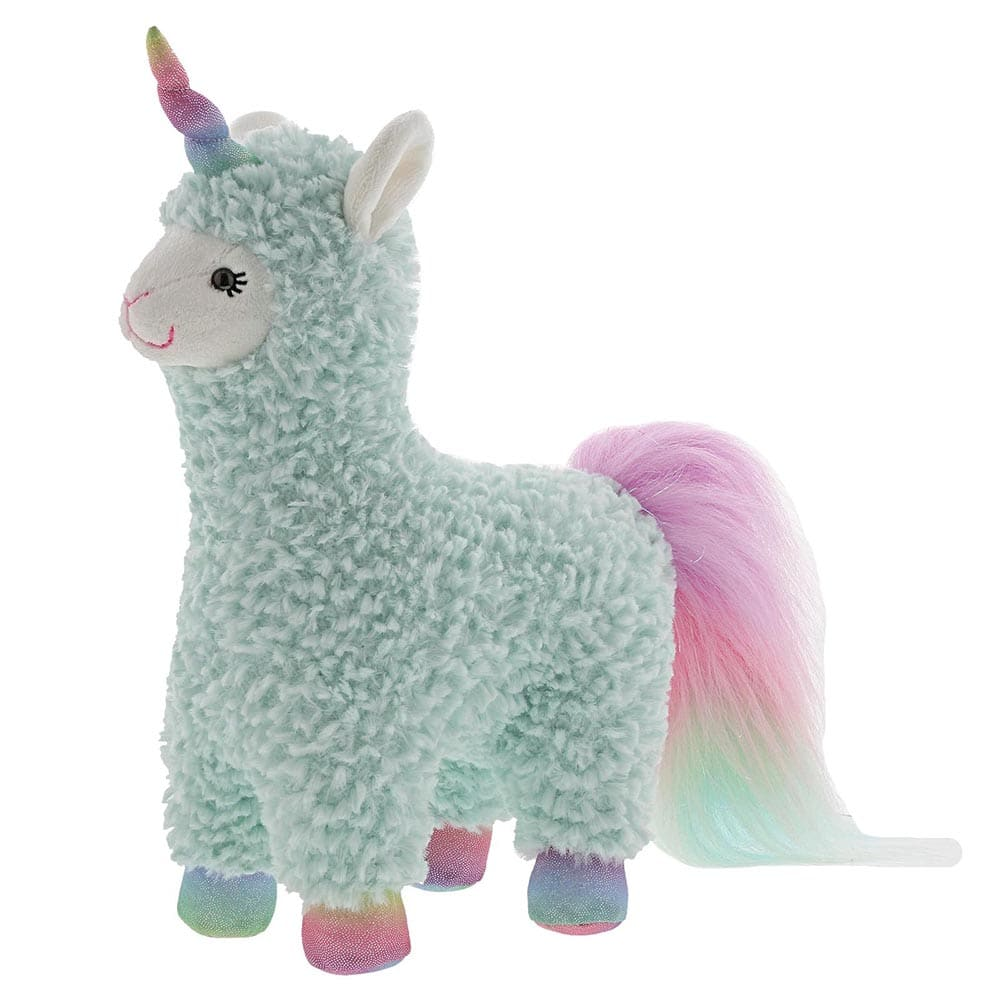 Cotton Candy Turquoise Llamacorn Soft Toy by Gund