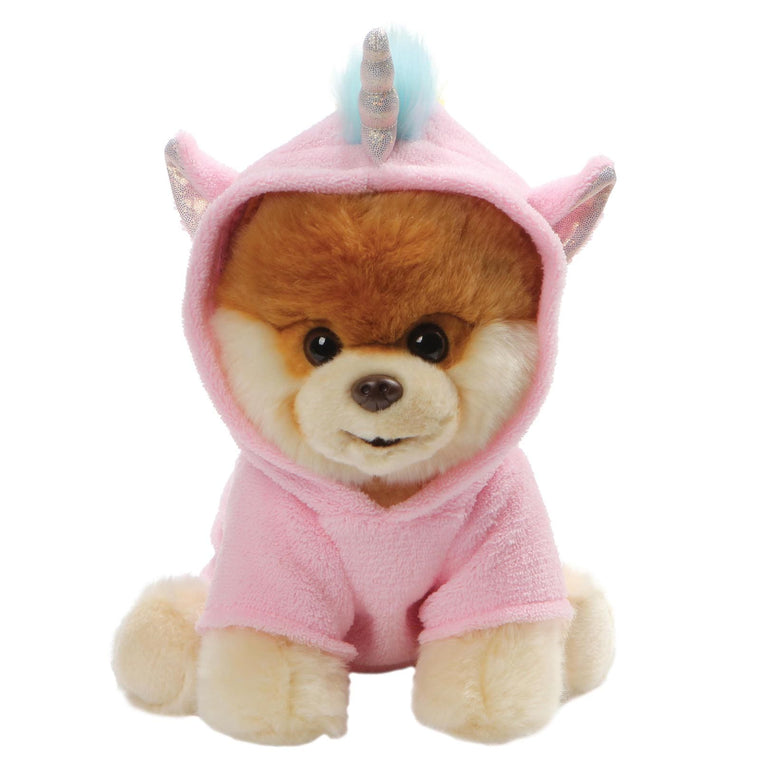 GUND Boo Unicorn Soft Toy With Sparkly Horn And Rainbow Mane