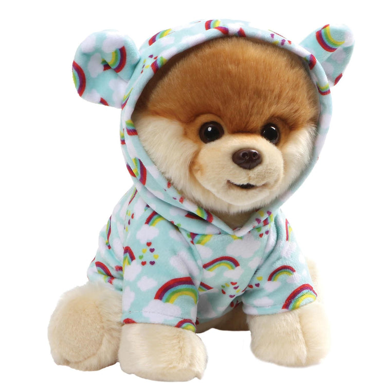 Gund Boo Rainbow And Cloud Super Cute Hoodie Soft Toy
