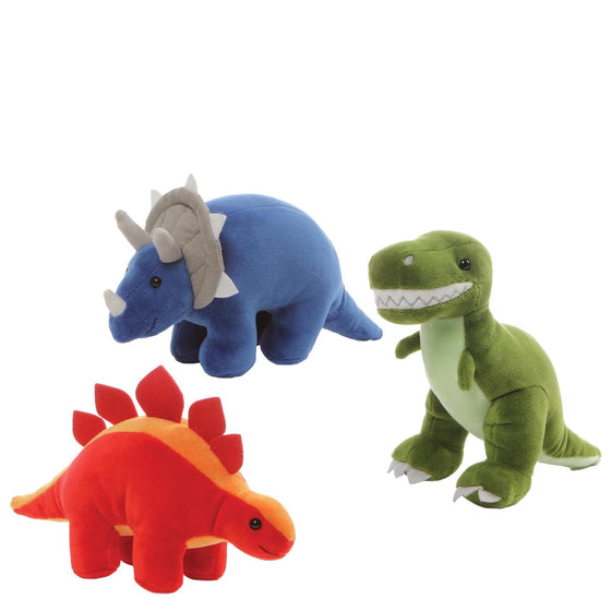 Dino Chatter Assortment Cuddly Soft Squeeze Toy by Gund