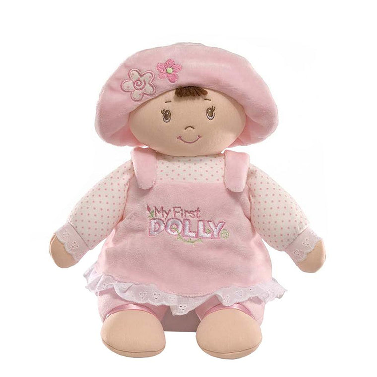My 1st Dolly (Brunette) Soft Toy - GUND Baby
