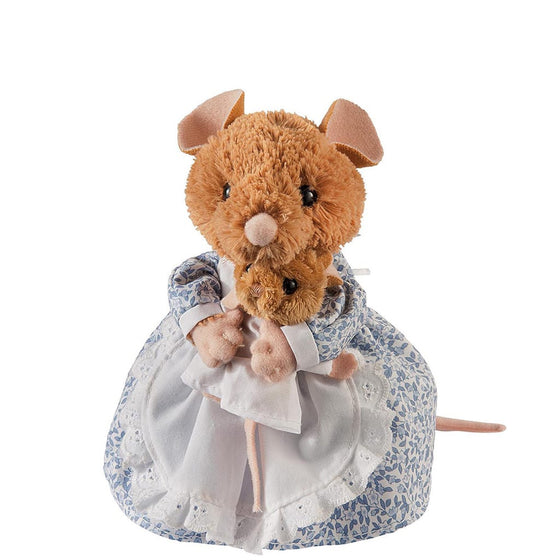 GUND Peter Rabbit Hunca Munca & Baby Medium Soft Toy
