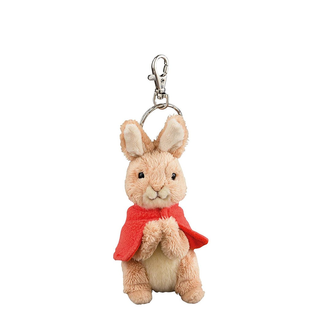 GUND Peter Rabbit Flopsy Soft Toy Keyring