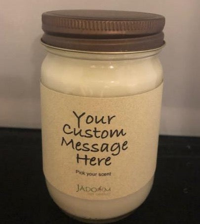 Custom Message Jar - 12 oz