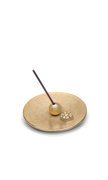 incense holder celestial orbit brass gold urns in style