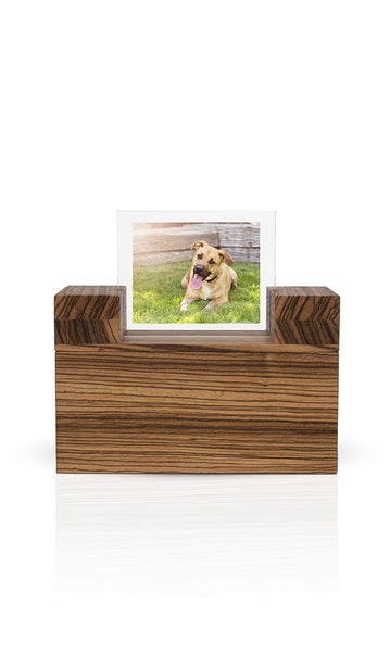 modern wood pet urn terra esprit urns in style