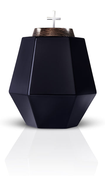 religious cremation urns empyrean hills black urns in style