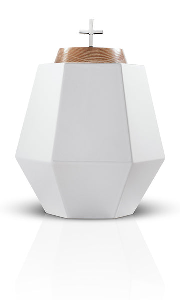 religious cremation urns empyrean hills white urns in style